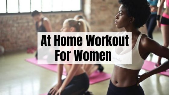 at home workout for women
