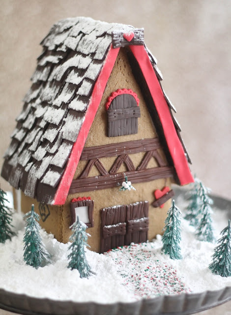 Bavarian Gingerbread House