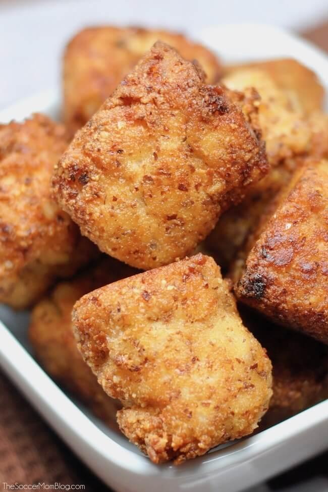 Buffalo Chicken Keto Cauliflower Tots