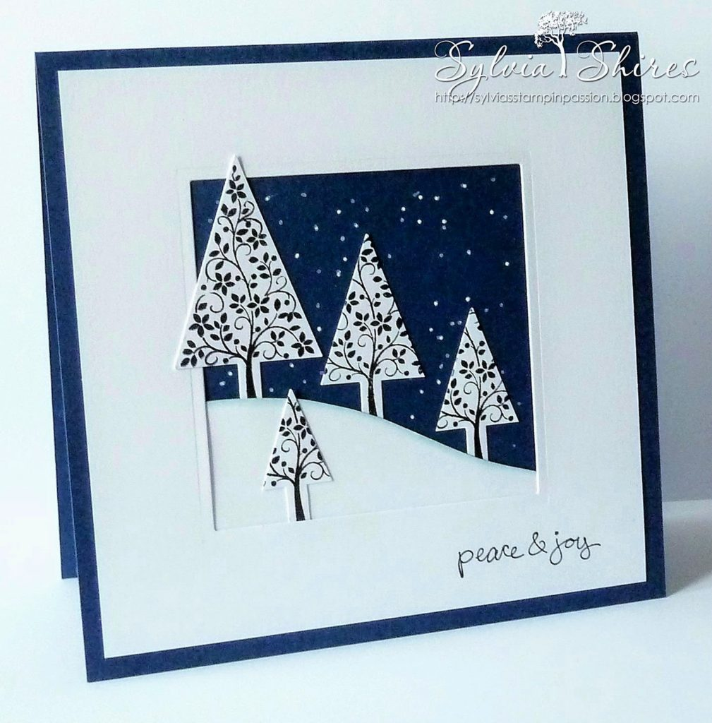 Christmas Tree Card Idea