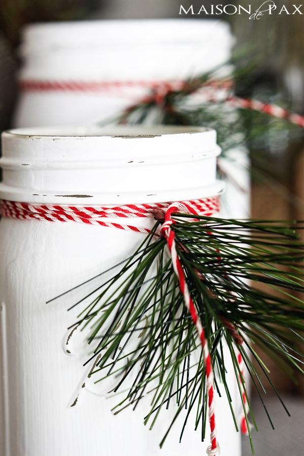 DIY Christmas Luminaries
