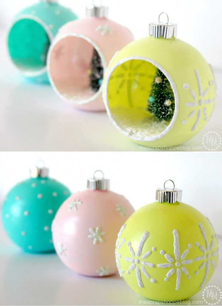 DIY Vintage-Style Ornaments