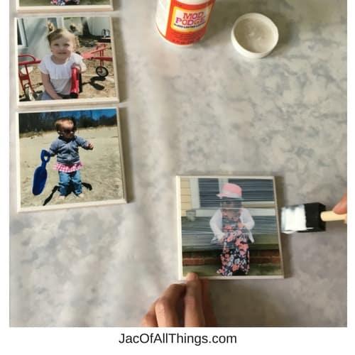 Easy DIY Photo Coasters