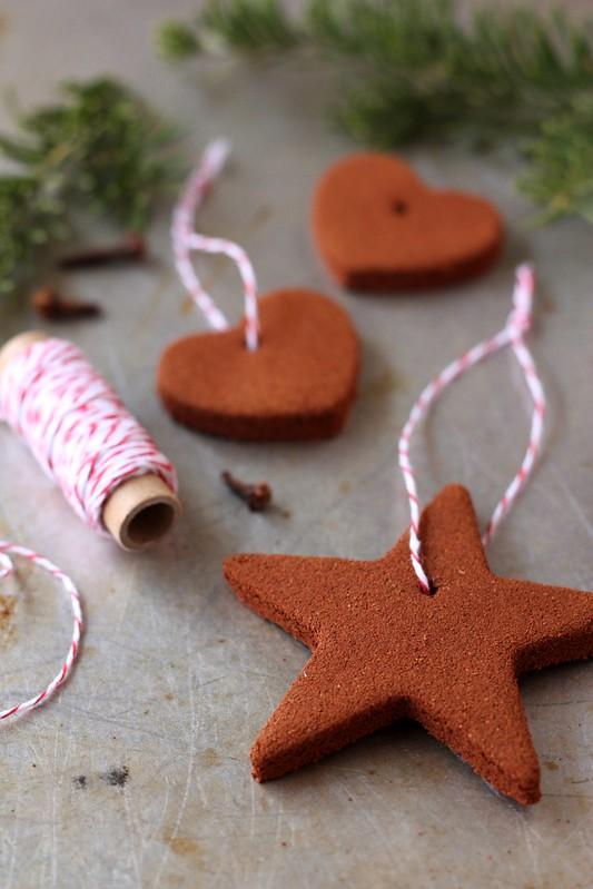 Homemade Cinnamon Ornaments