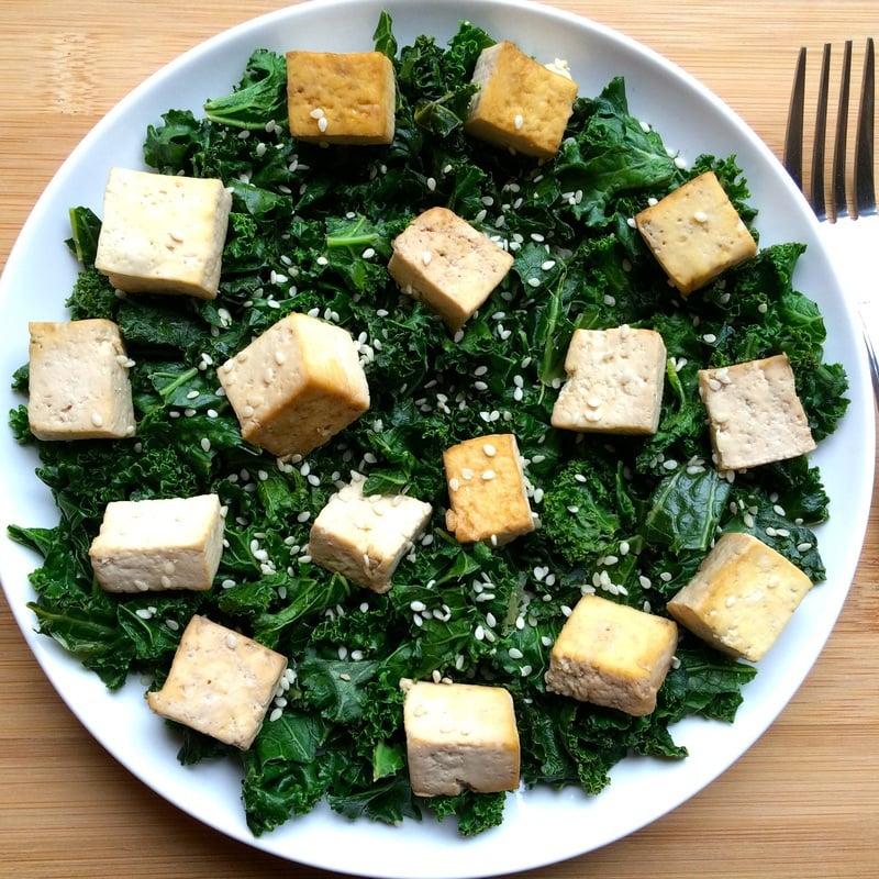Kale Tofu Stir Fry Vegan Keto