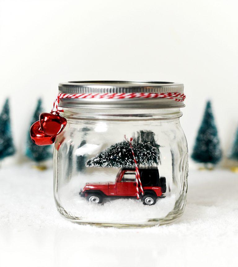 Mason Jar for Christmas