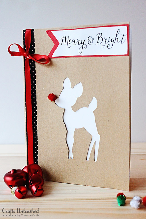 Merry & Bright DIY Christmas Cards