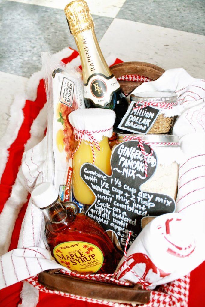 Pancake Breakfast Gift Basket