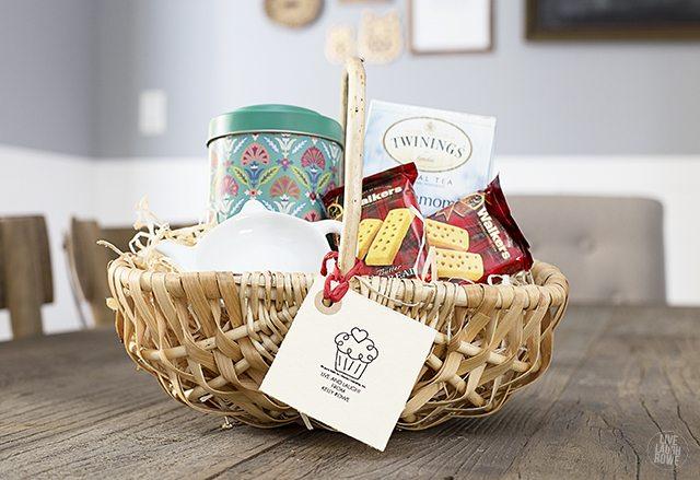Tea Gift Basket for the Tea Lover