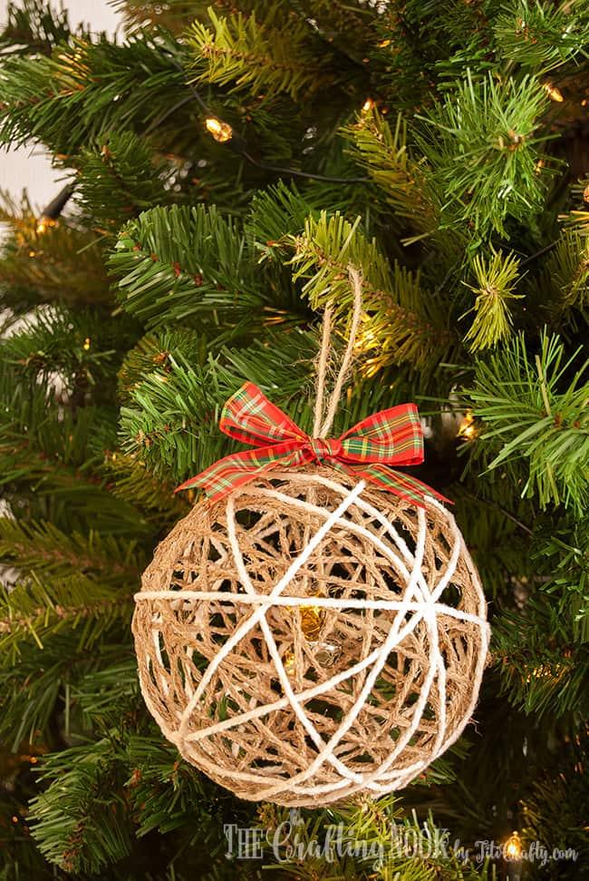 Twine Ball Ornament