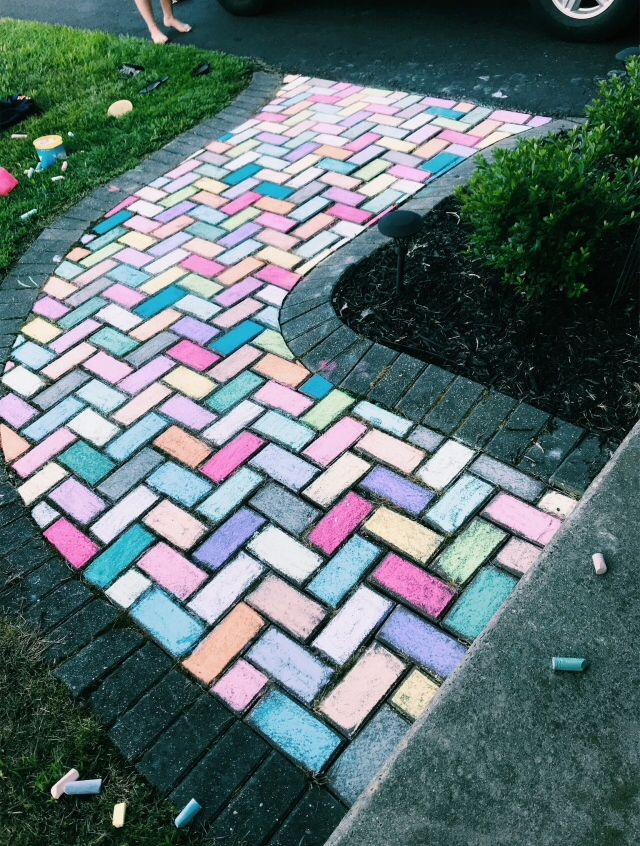 Colorful Walkway