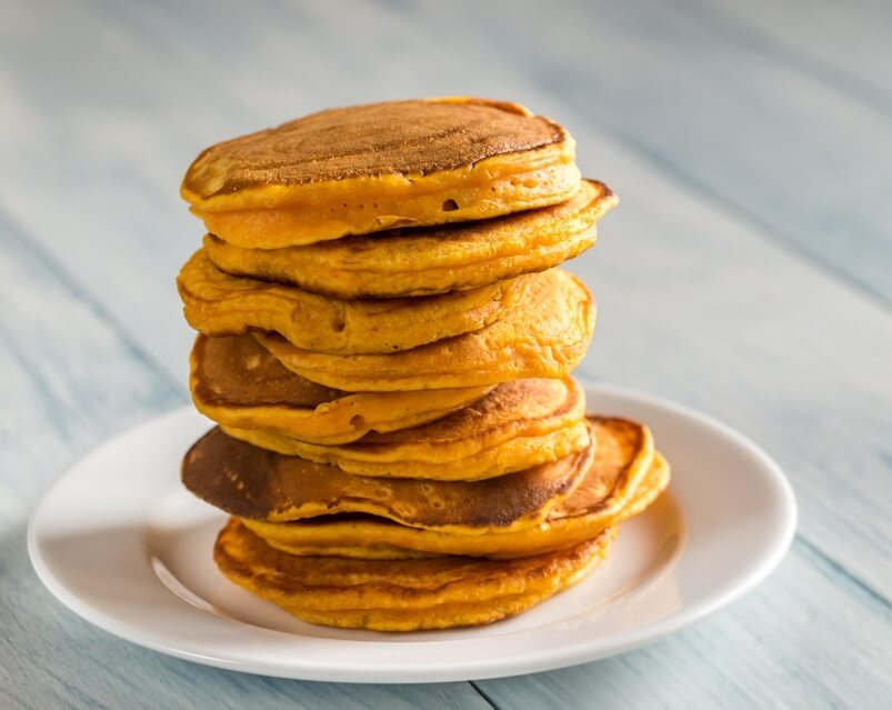 Fluffy Homemade Keto Pumpkin Pancakes