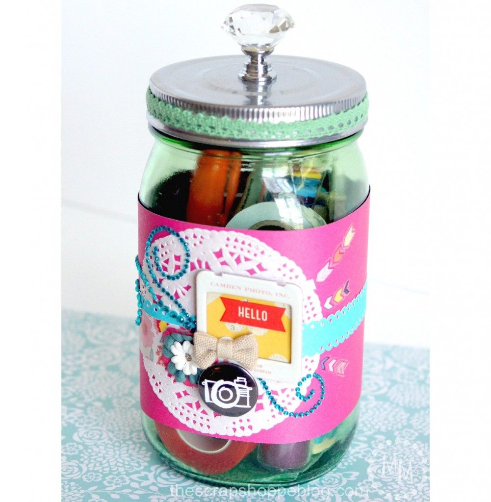 Gift in a jar