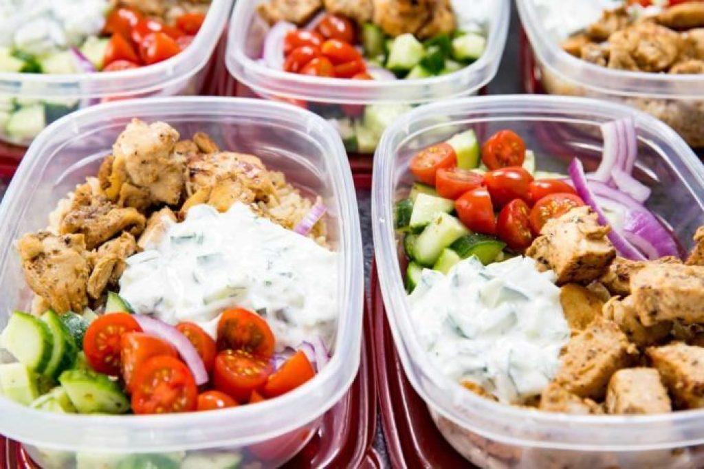 Greek Chicken Bowls Meal Prep Keto