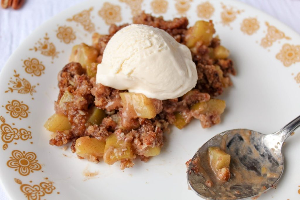Keto Gren Apple Crisp