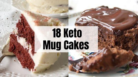 Keto Mug Cakes