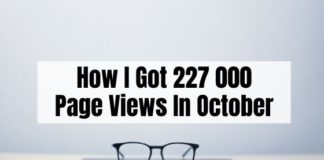 October Blog Traffic Report