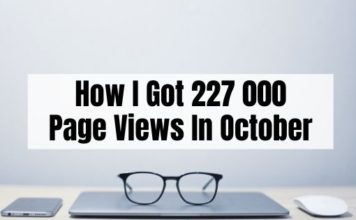 October Blog Traffic Report