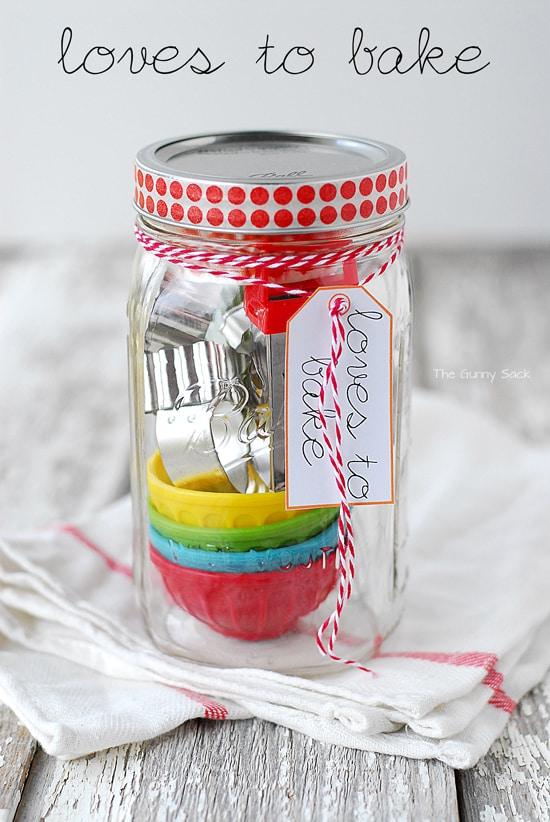 Loves To Bake Gift Jar
