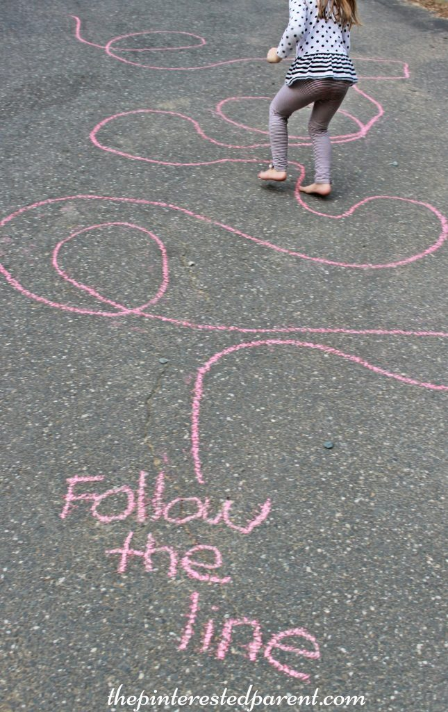 Sidewalk Chalk Art Games