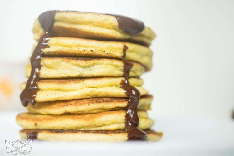 Silver Dollar Low Carb Pancakes