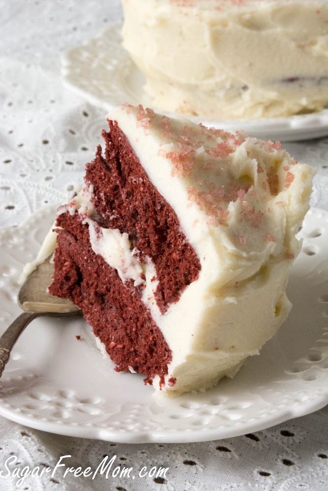 Sugar Free Red Velvet Mug Cake