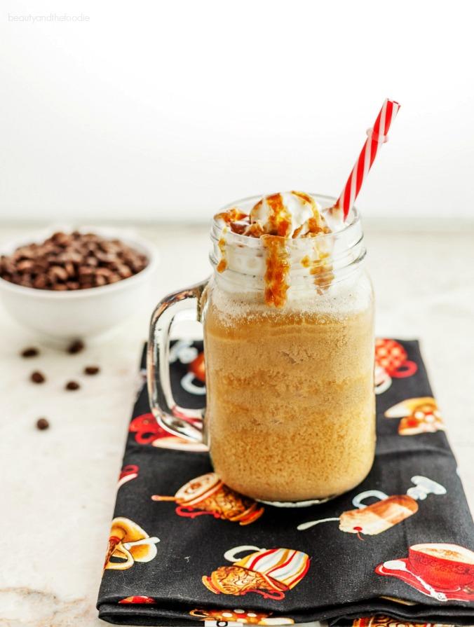 Vanilla Caramel Frappuccino