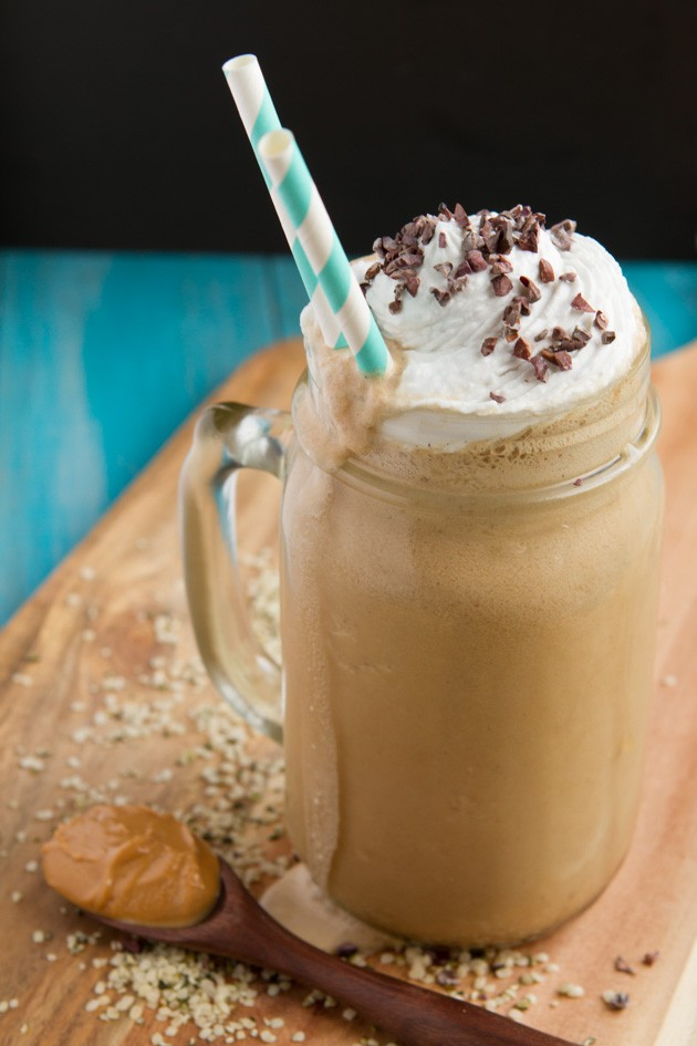 Vegan Rocket Fuel Iced Blended Coffee