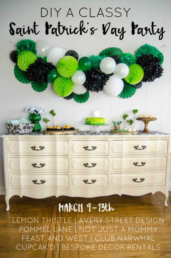 DIY St Patricks Day Decor