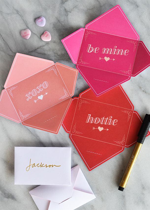 Fold & Send Valentine's Day Printables