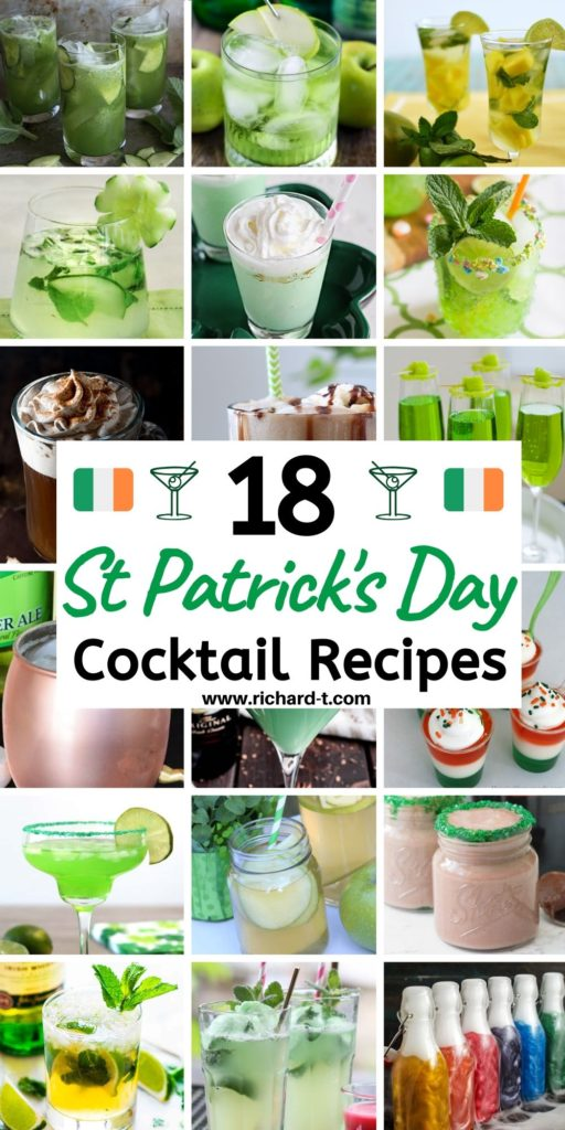 St Patricks Day Cocktails