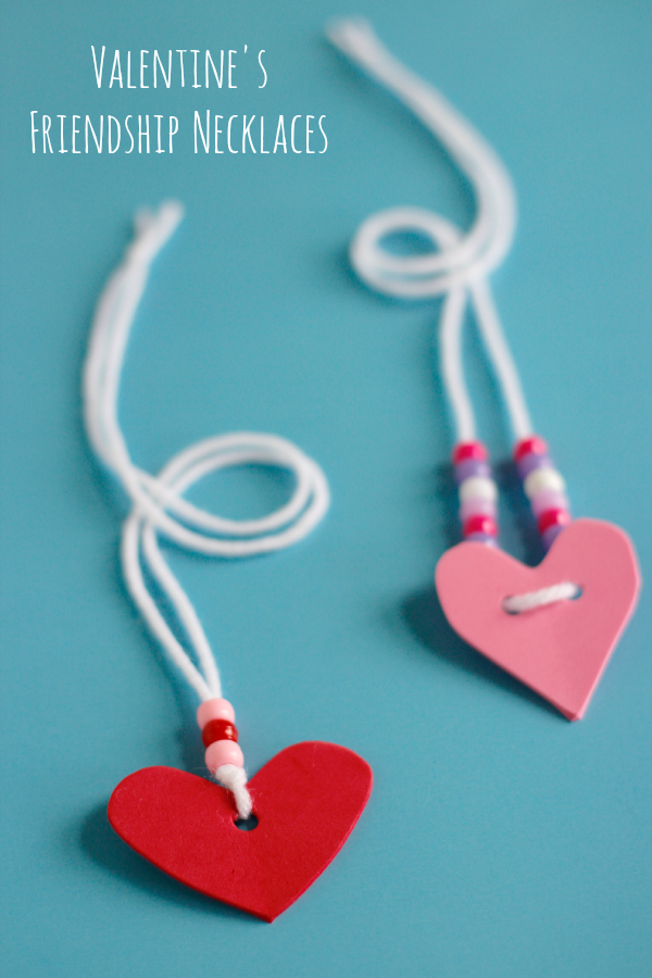 Valentine's Friendship Necklaces