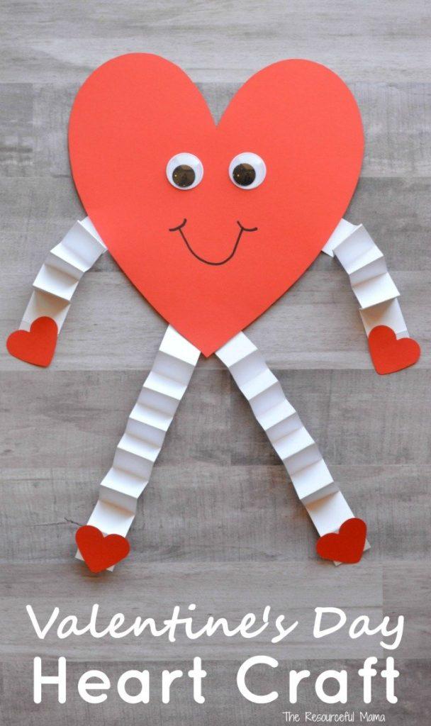 Valentine's Day Hear Craft for Kids