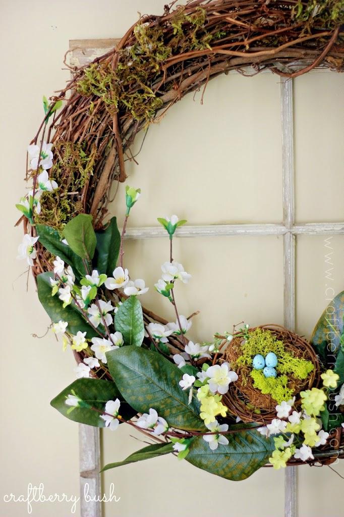 DIY Easter wreaths