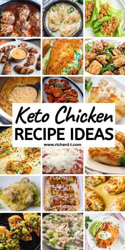 20 Keto Chicken Recipes