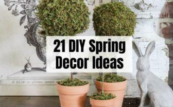DIY Spring Decor Ideas
