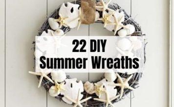 DIY Summer Wreaths