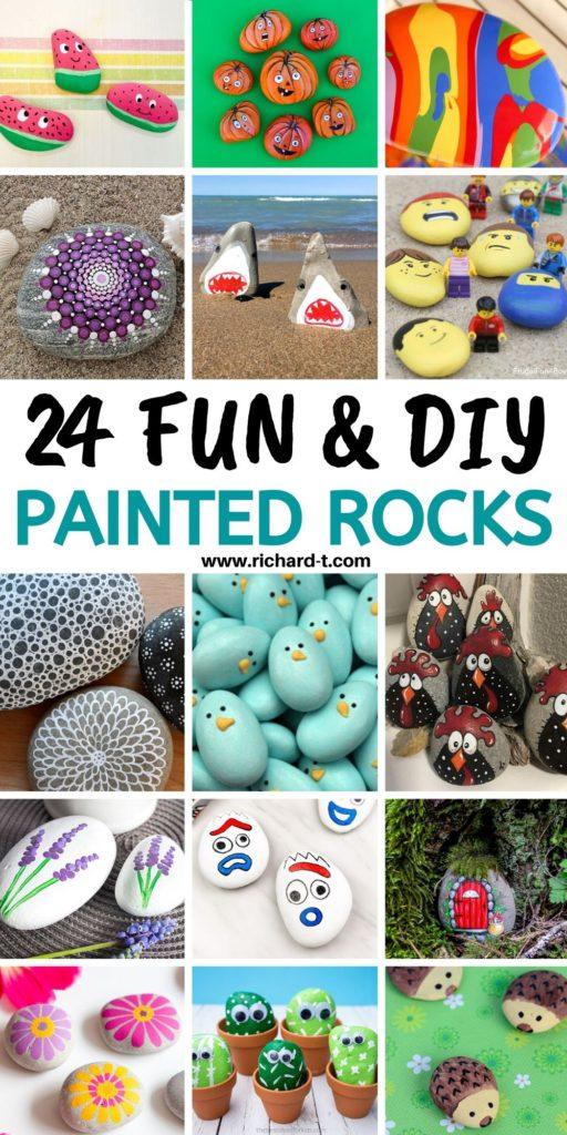 24 Best Painted Rocks
