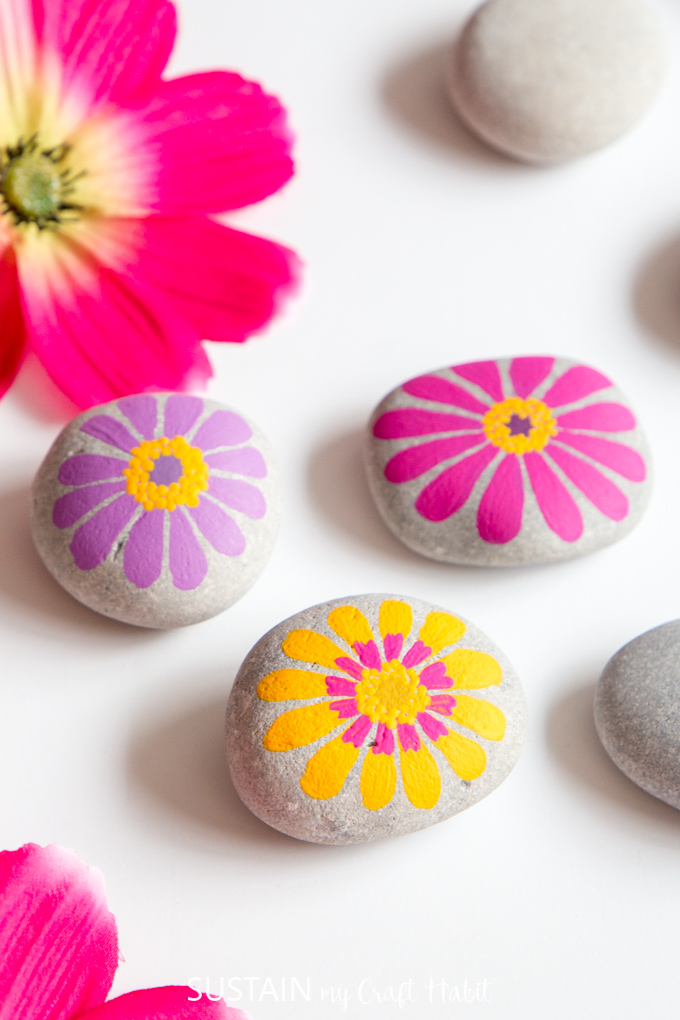The 24 Best Painted Rocks That Are Heaps Of Fun