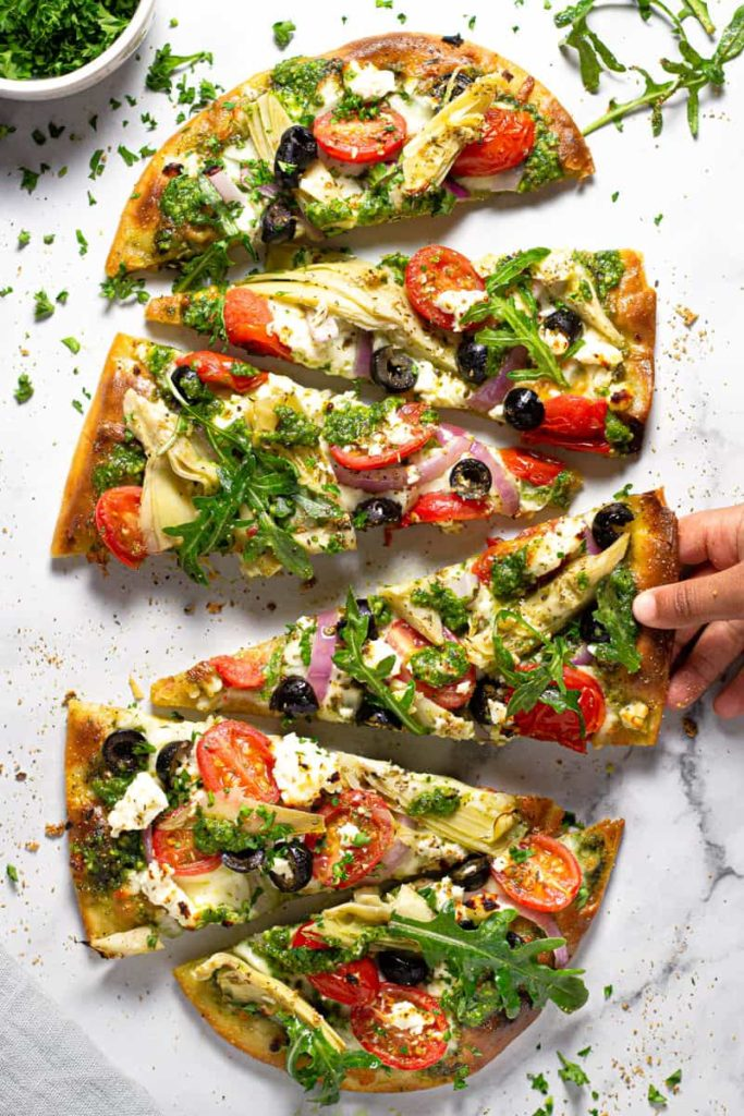 vegetarian pizza recipes