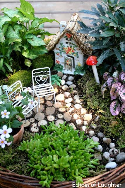 DIY fairy gardens