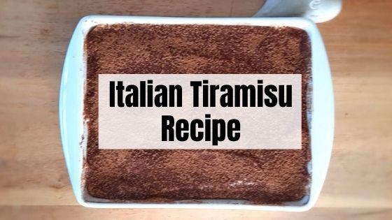 Tiramisu Recipe 2
