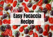 focaccia recipe