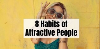 Habits attractive people